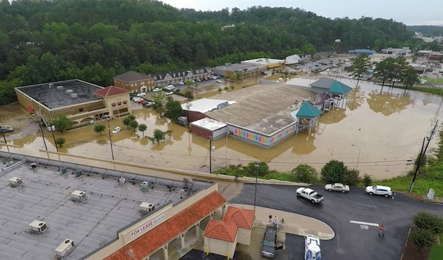 Vestavia Bowl flooding 7-26-17 (1)