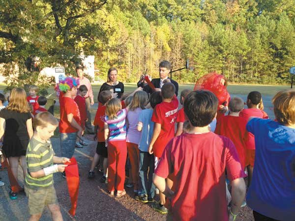 12 Shades Mountain Elementary completes its field project