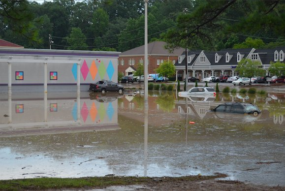 Vestavia Bowl flooding 7-26-17