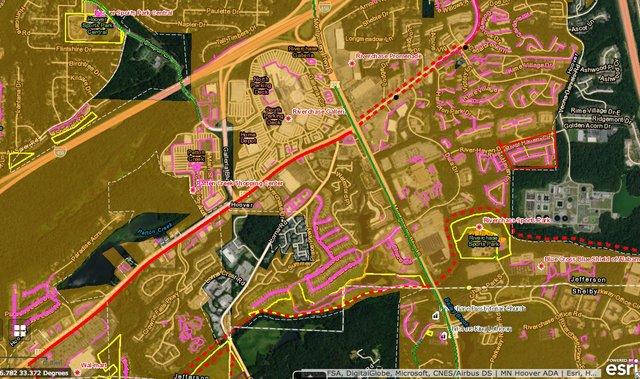 bicycle pedestrian plan map 2