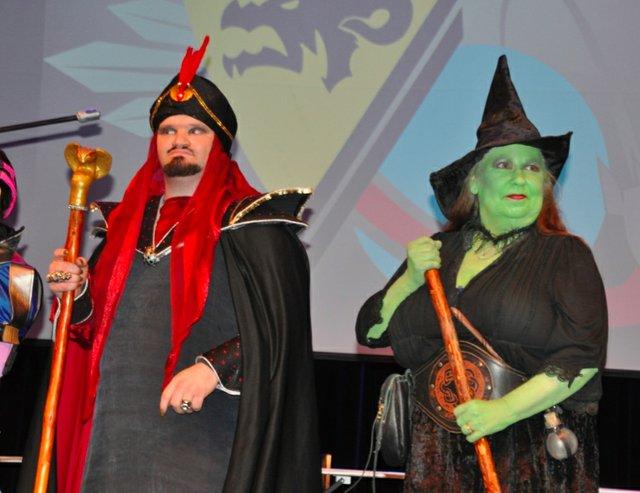 Sci fi costume Jafar witch