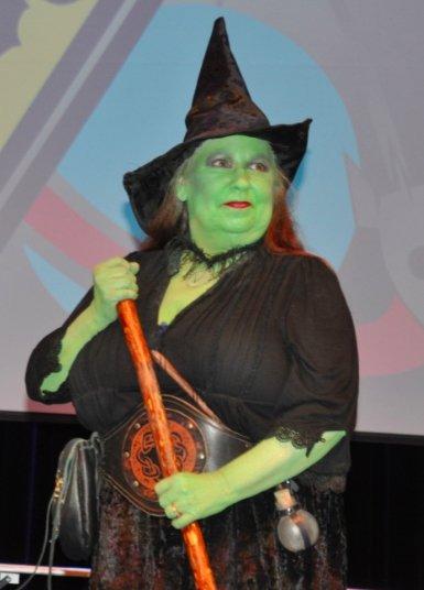 Sci Fi costume witch