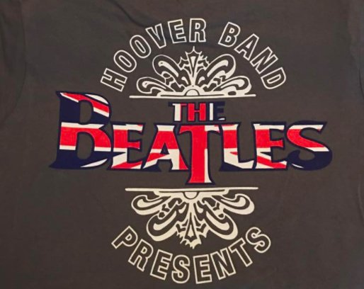 Hoover Band Beatles show T-shirt