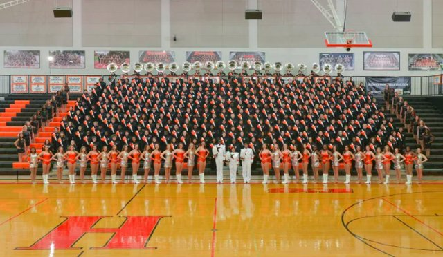 Hoover High Marching Band 2017