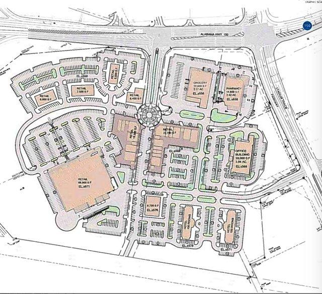 Stadium Trace Village concept plan 9-11-17
