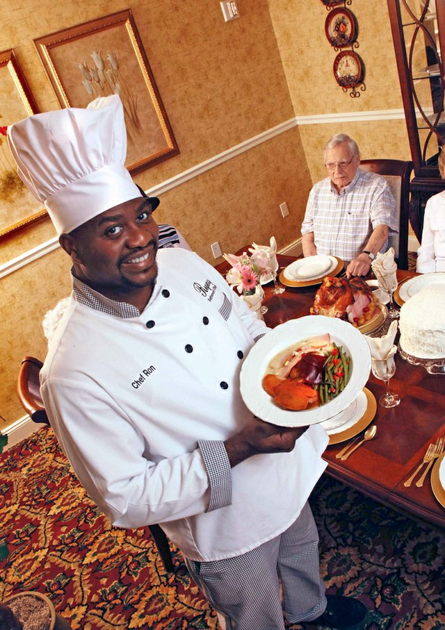 Chef Ron Cook