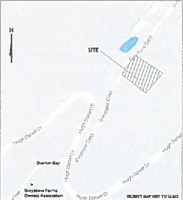 Greystone Crest cell tower site map