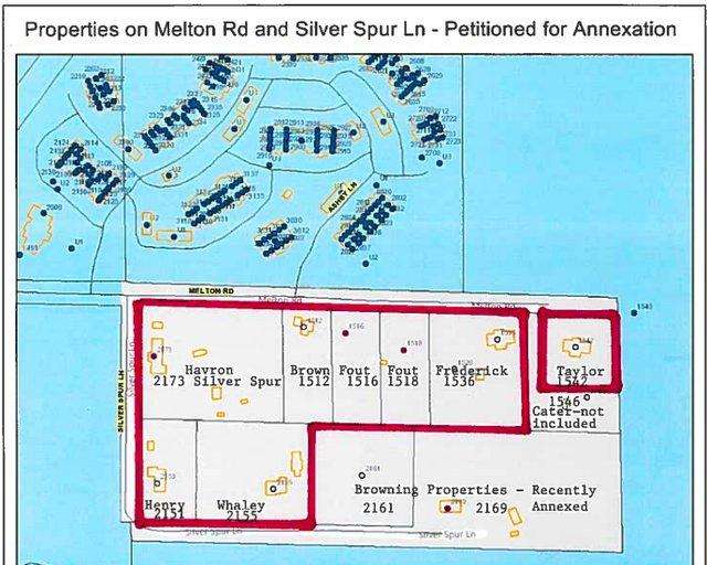 Melton Road annexation