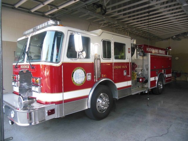 Hoover fire engine