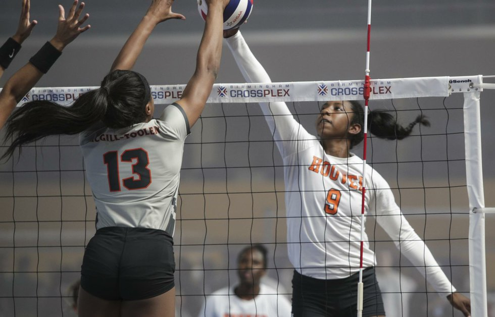 Hoover VS McGill Toolen volleyball 2017
