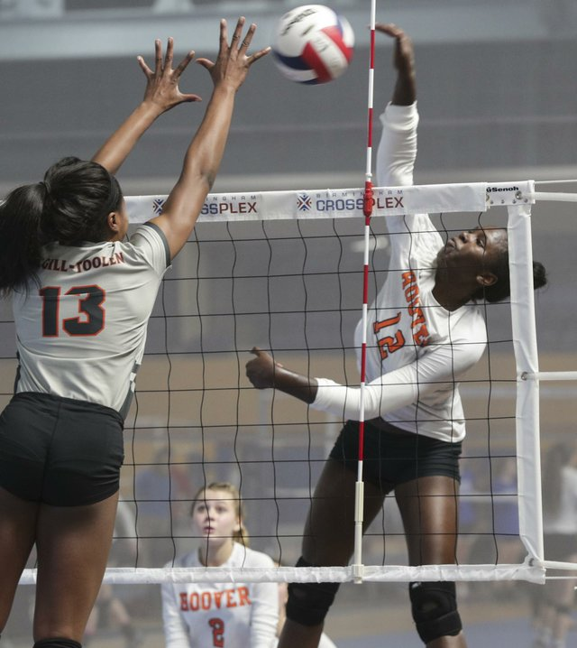Hoover VS McGill Toolen volleyball 2017