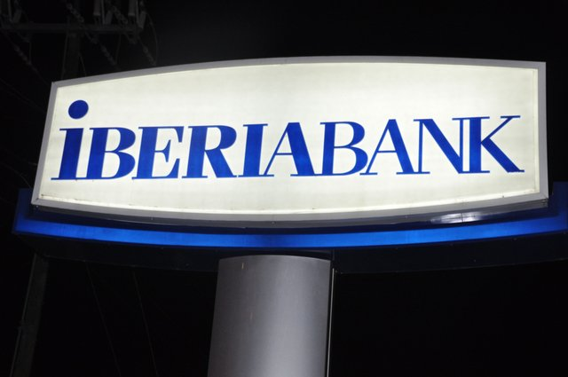 IberiaBank sign