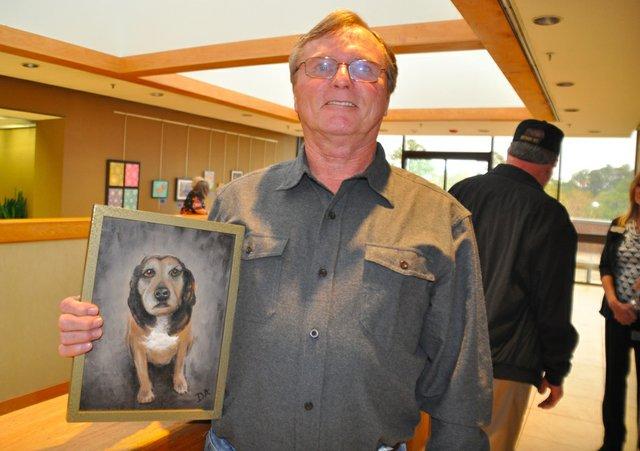 Doug Armstrong veterans art