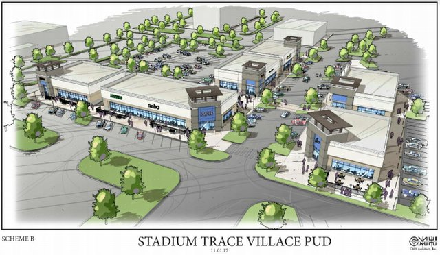 Stadium Trace Village village center 11-1-17