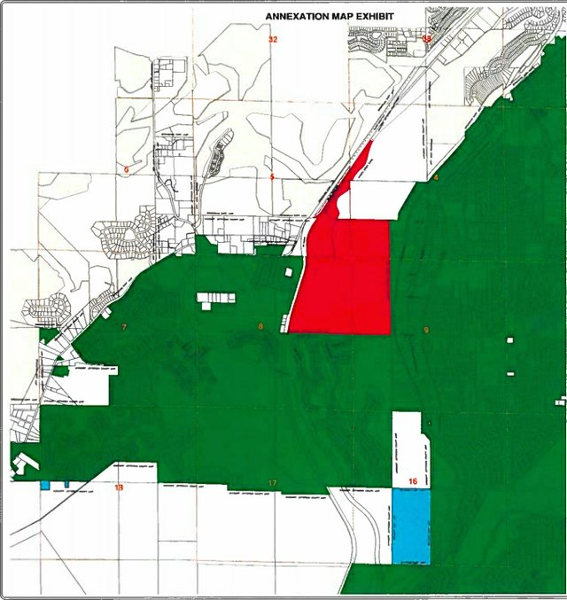 Freshwater Land Trust annexation map