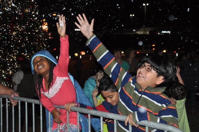 Hoover Christmas tree lighting 207-36