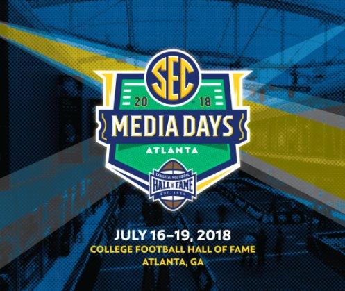 SEC Media Days Atlanta 2018 logo