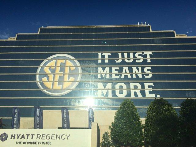 SEC Media Days in Hoover