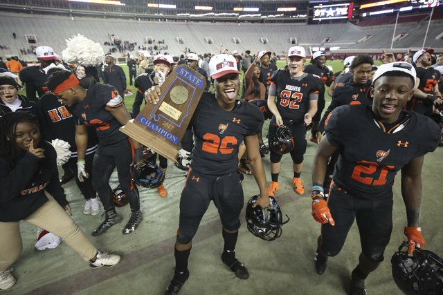 Hoover vs McGill Toolen Football State Championship 2017