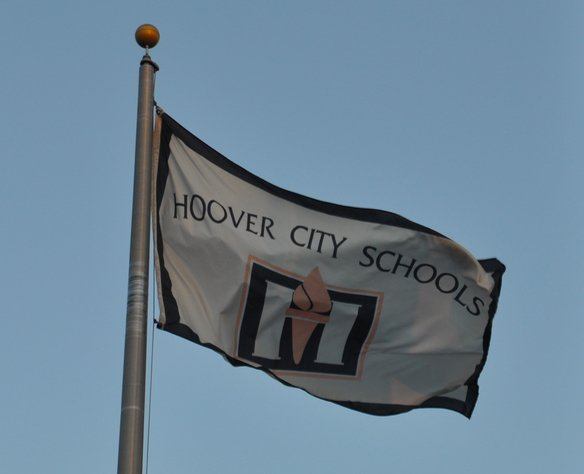 Hoover City Schools flag