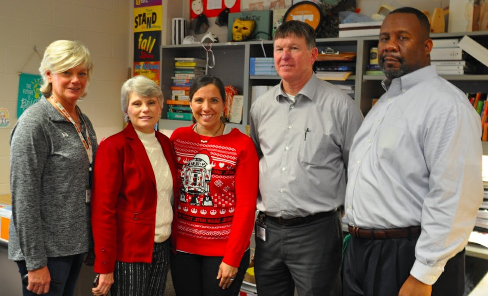 Jillian Thomas: Greystone, Berry Educators Named 2017-18 Hoover Teachers
