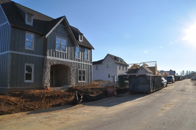Lake Wilborn home construction Dec 2017