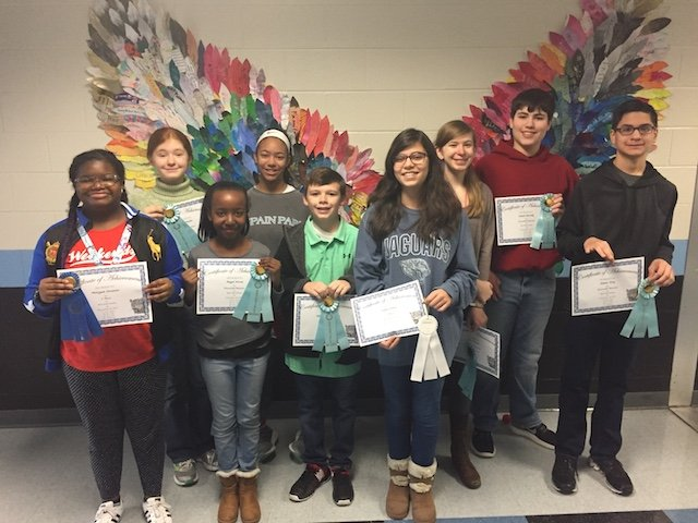 Berry Middle holds fall short story contest - HooverSun com
