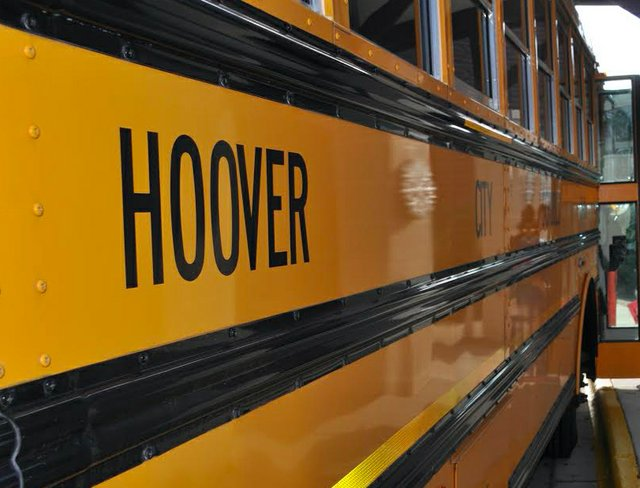 Hoover school bus
