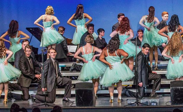 Spain Park show choir Jan 2018