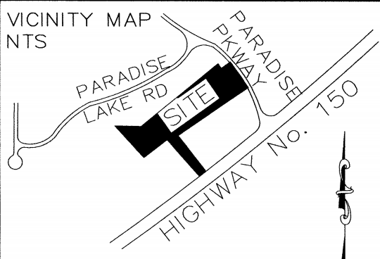 Najam used card dealership vicinity map