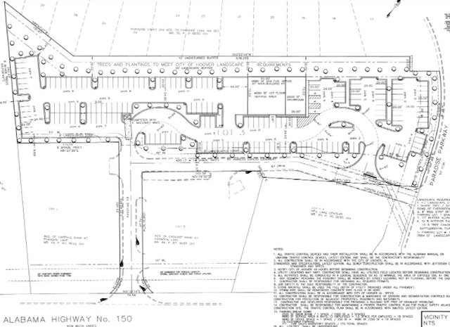 Najam used car dealership site plan