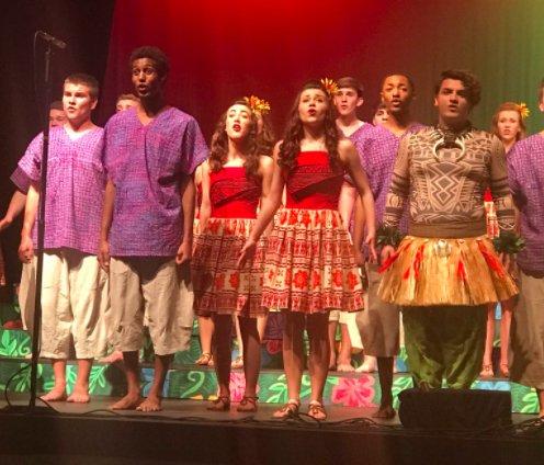 Paradigm show choir 2-9-18