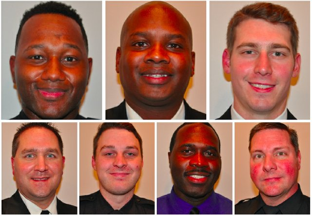 Hoover 2017 Public Safety Officers of Year