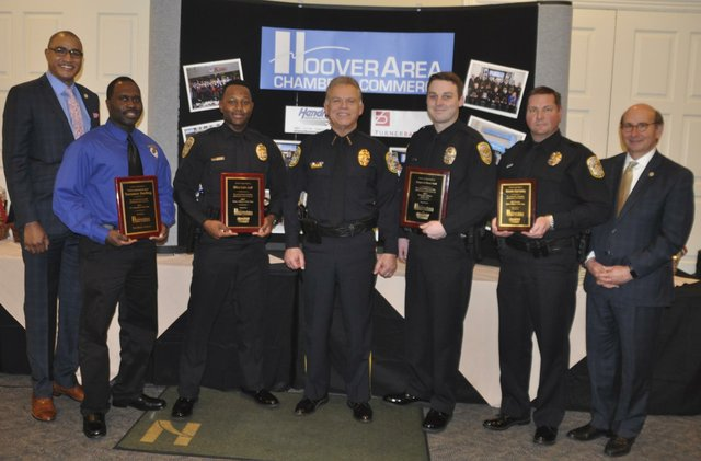 2017 chamber police awards