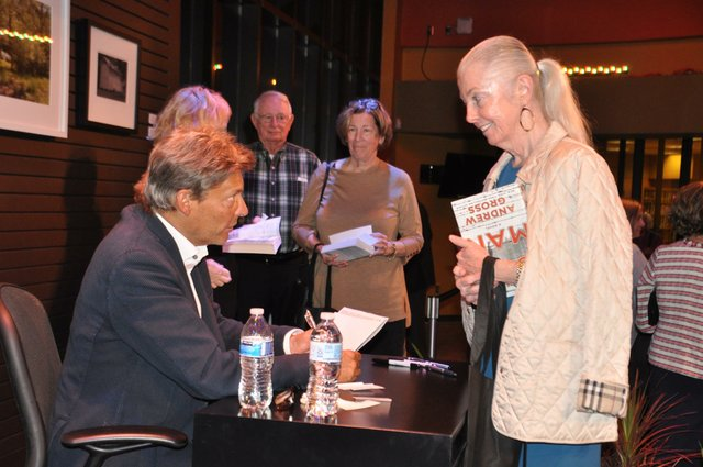Southern Voices 2018 Andre Gross book signing 2