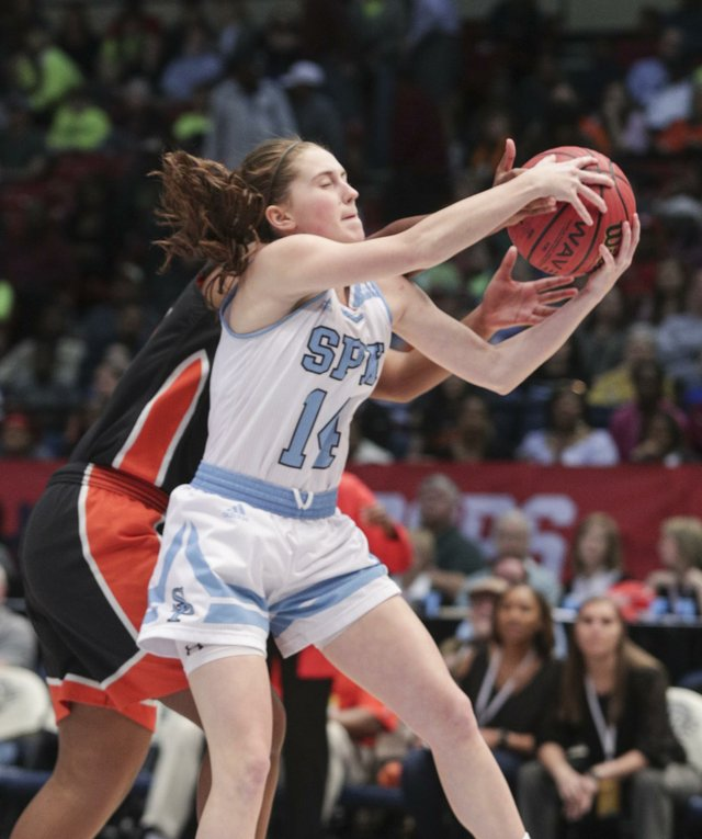 Spain Park Girls Basketball VS McGill Toolen State Championship