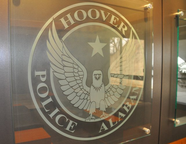 Hoover police insignia