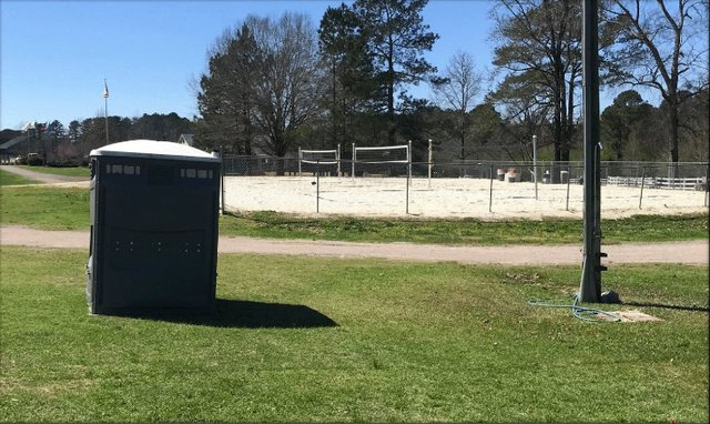 Veterans Park sand volleyball courts