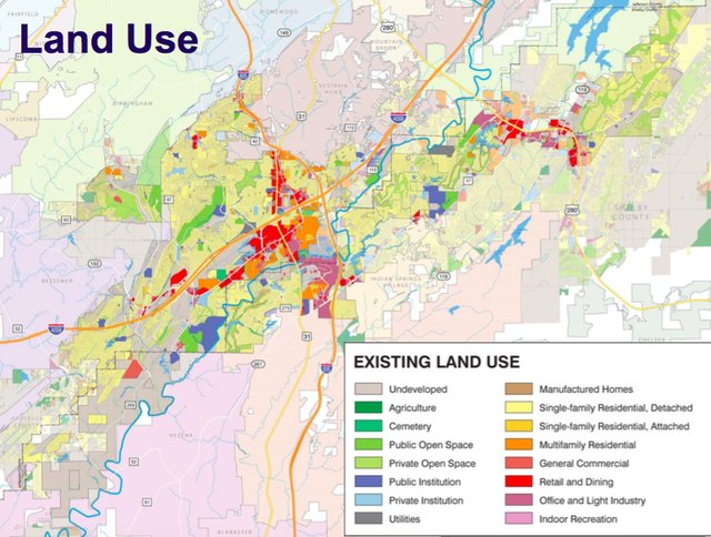 Hoover land use map 2018