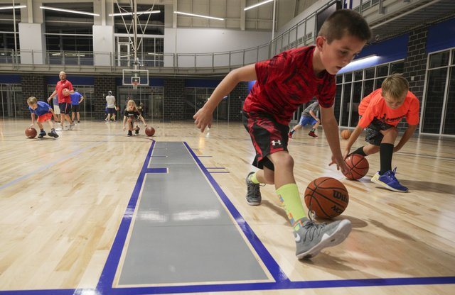 Finley Center youth basketball 11-7-17