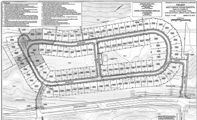 Abingdon prelimary plans