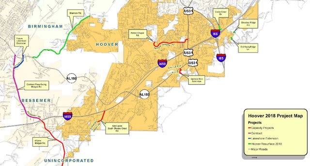 JeffCo 2018 road project plan