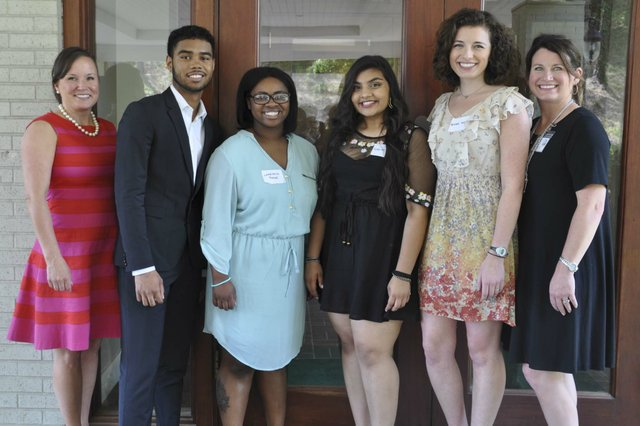Hoover Service Club scholarships awards 2018 5