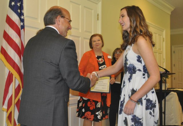 Hoover Service Club scholarships awards 2018 4