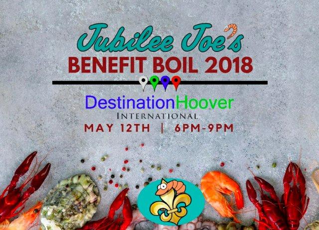 Jubilee Joe's Benefit Boil 2018 logo