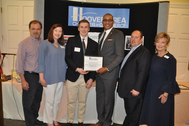 Hoover chamber scholarships May 2018 4