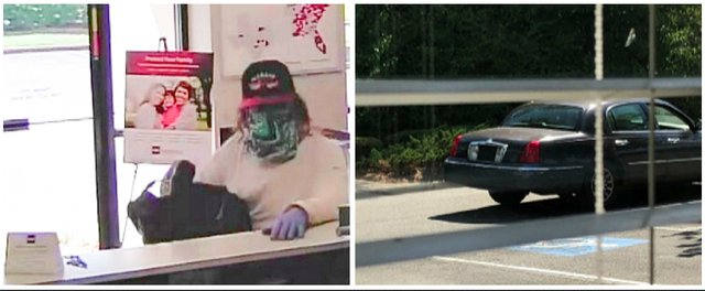 BB&T Bank robbery 6-7-18