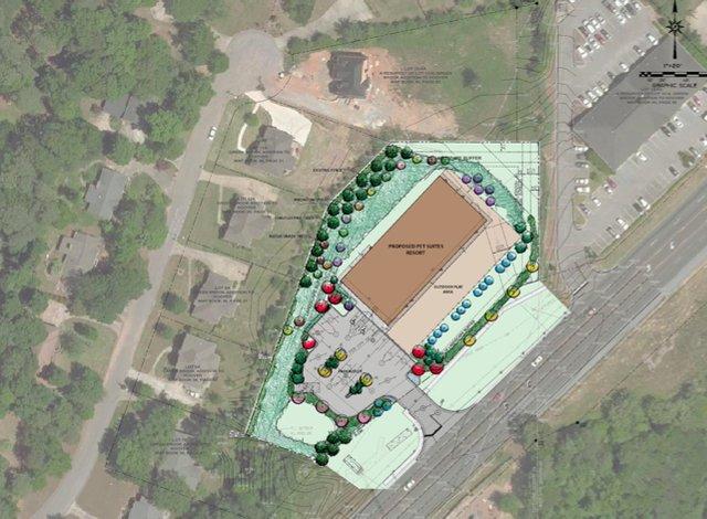PetSuites Resort map