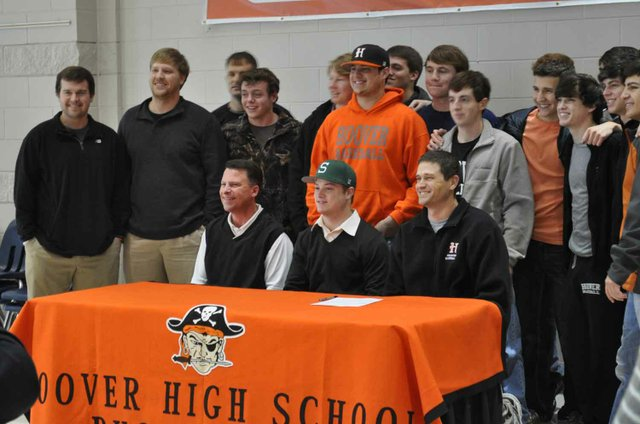 0113 Baseball Players sign Shelton State