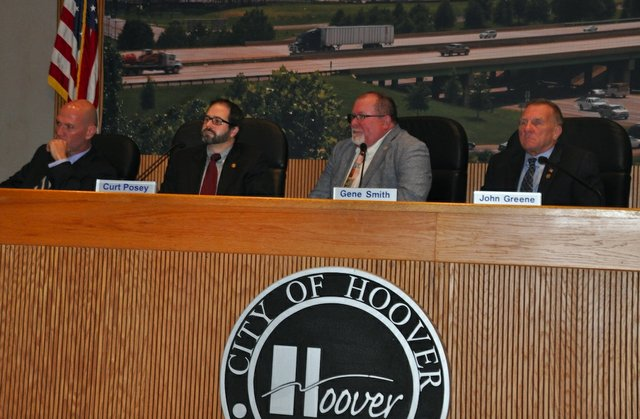 Hoover City Council 9-17-18